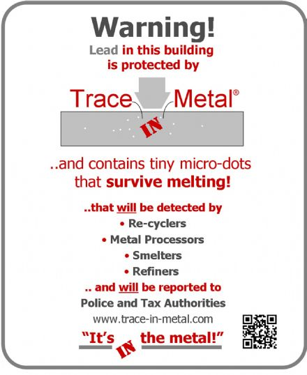 Trace-in-Metal Lead Protection Systems   POA